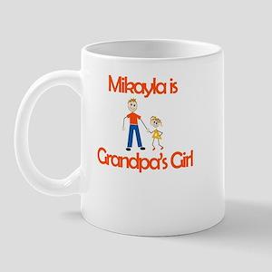 Mikayla is Grandpa's Girl Mug