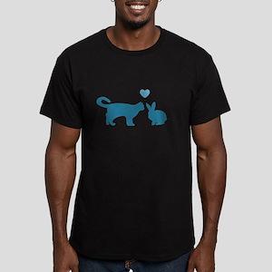 Cat Meets Bunny T-Shirt