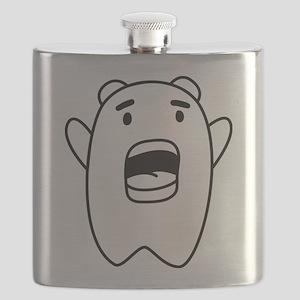 Bazinga Scream Flask