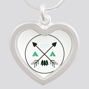 Camping Patch Necklaces