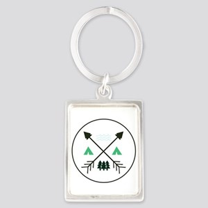 Camping Patch Keychains