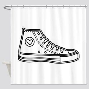 Chucks Shower Curtain