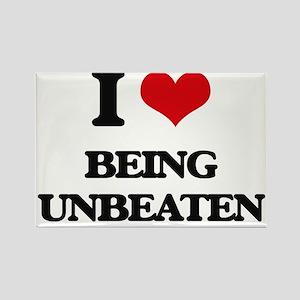 I love Being Unbeaten Magnets