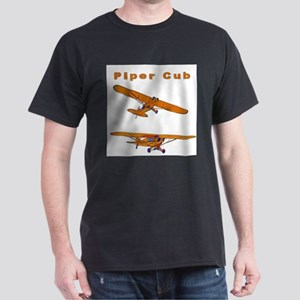 Piper Cub Ash Grey T-Shirt