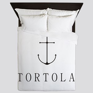 Tortola Sailing Anchor Queen Duvet