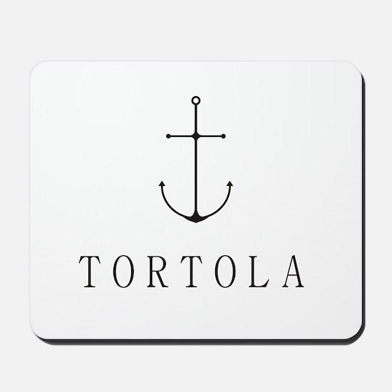 Tortola Sailing Anchor Mousepad