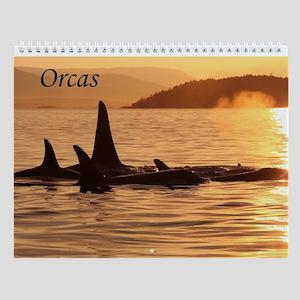 Wall Calendar-Orcas