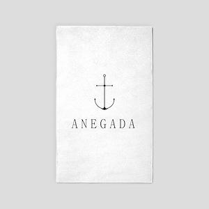 Anegada Sailing Anchor Area Rug