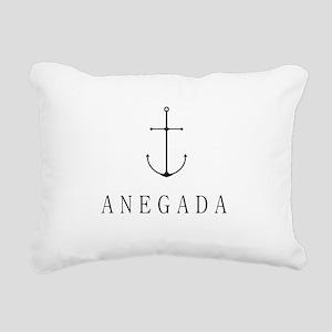 Anegada Sailing Anchor Rectangular Canvas Pillow