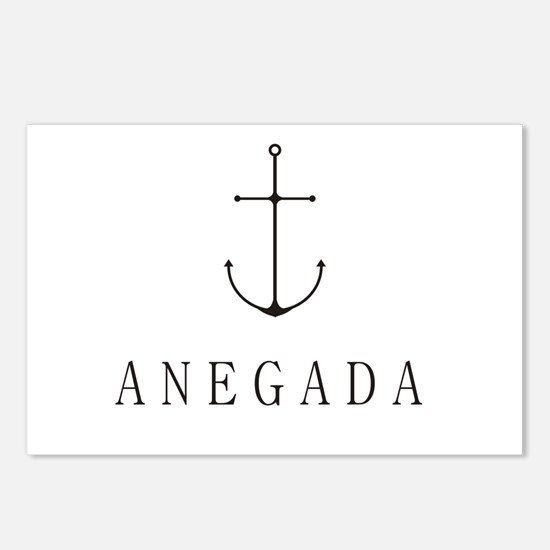 Anegada Sailing Anchor Postcards (Package of 8)