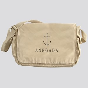Anegada Sailing Anchor Messenger Bag