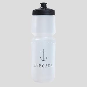 Anegada Sailing Anchor Sports Bottle