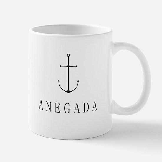 Anegada Sailing Anchor Mugs
