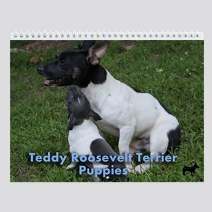Wall Calendar Teddy Pups