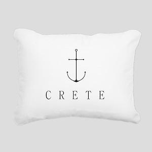 Crete Sailing Anchor Rectangular Canvas Pillow