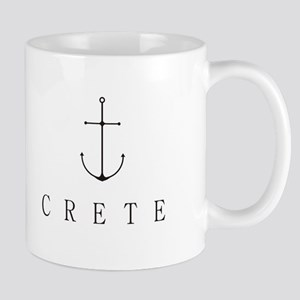 Crete Sailing Anchor Mugs
