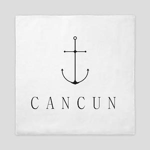 Cancun Sailing Anchor Queen Duvet