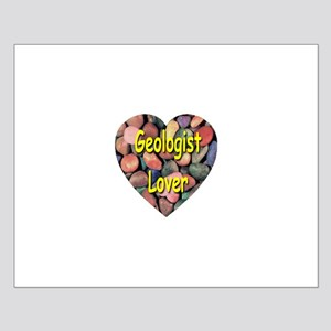Geologist Lover Small Poster