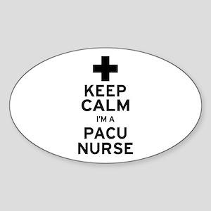 Keep Calm PACU Nurse Sticker