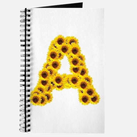 Cute Sunflower Journal