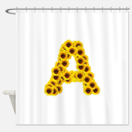 Funny Sunflower Shower Curtain