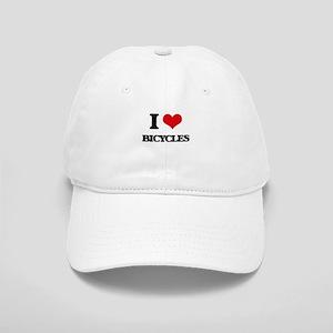 I Love Bicycles Cap