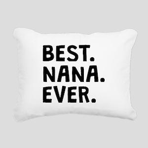 Best Nana Ever Rectangular Canvas Pillow