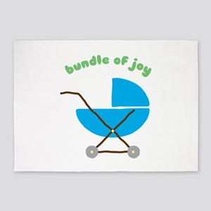 Bundle Of Joy 5'x7'Area Rug