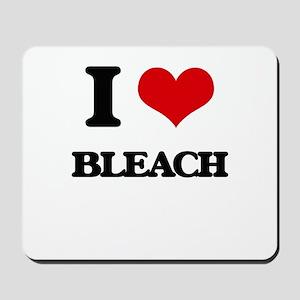 I Love Bleach Mousepad