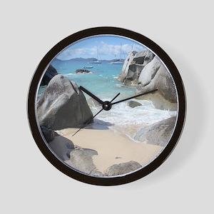 The Baths Wall Clock