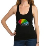 Rainbow Peace Racerback Tank Top