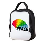 Rainbow Peace Neoprene Lunch Bag