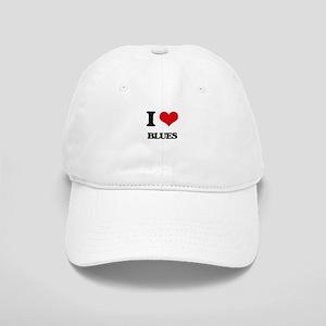 I Love Blues Cap