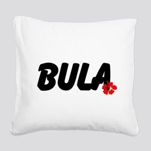 Bula Square Canvas Pillow