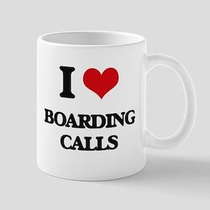 I Love Boarding Calls Mugs