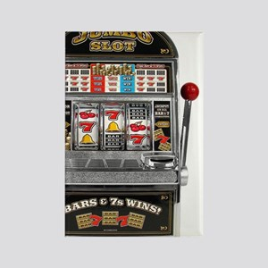Casino Slot Machine Rectangle Magnet
