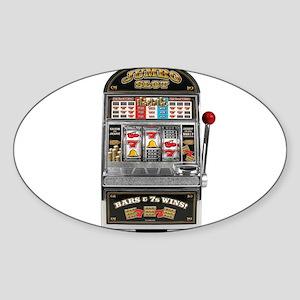 Casino Slot Machine Sticker