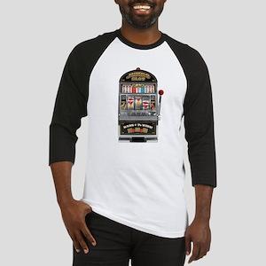 Casino Slot Machine Baseball Jersey