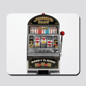 Casino Slot Machine Mousepad