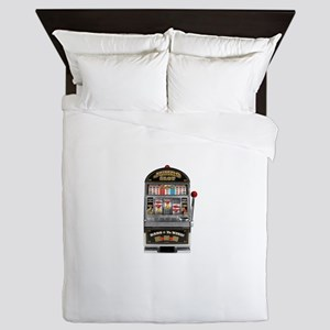 Casino Slot Machine Queen Duvet