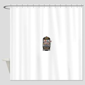 Casino Slot Machine Shower Curtain