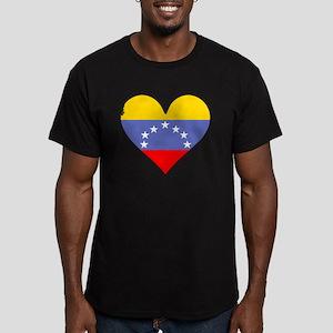 Venezuela Flag Heart T-Shirt