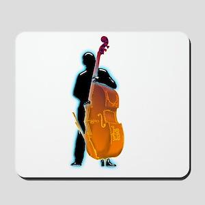 Bassist 14 by Bluesax Mousepad
