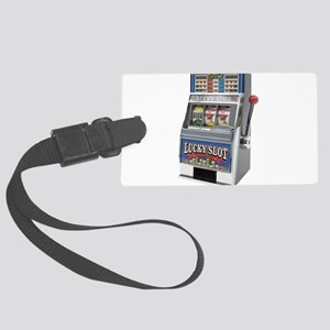 Casino Slot Machine Large Luggage Tag