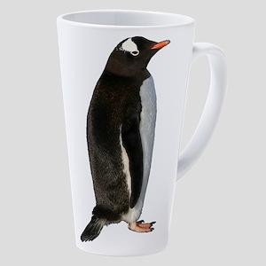 Gentoo Penguin 17 Oz Latte Mug