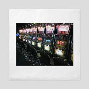 Casino Slot Machine Queen Duvet