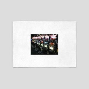 Casino Slot Machine 5'x7'Area Rug