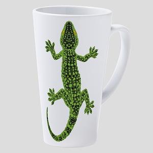 Gecko 17 Oz Latte Mug