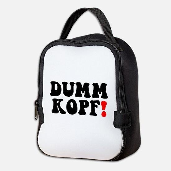 DUMMKOPF! - Neoprene Lunch Bag
