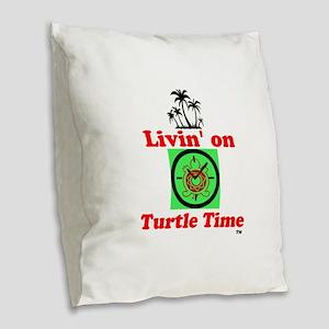Design Burlap Throw Pillow